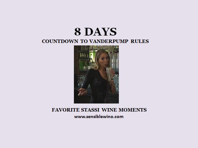 8 Days! Vanderpump Rules Countdown with Stassi Schroeder Favorite Wino