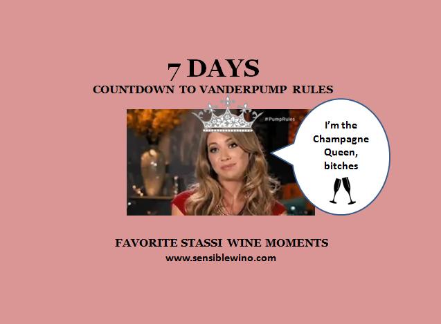 7 Days! Vanderpump Rules Countdown with Stassi Schroeder Favorite Wino