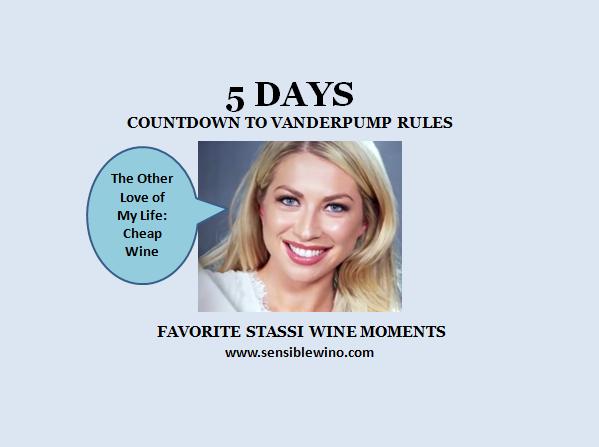 5 Days! Vanderpump Rules Countdown with Stassi Schroeder Favorite Wino