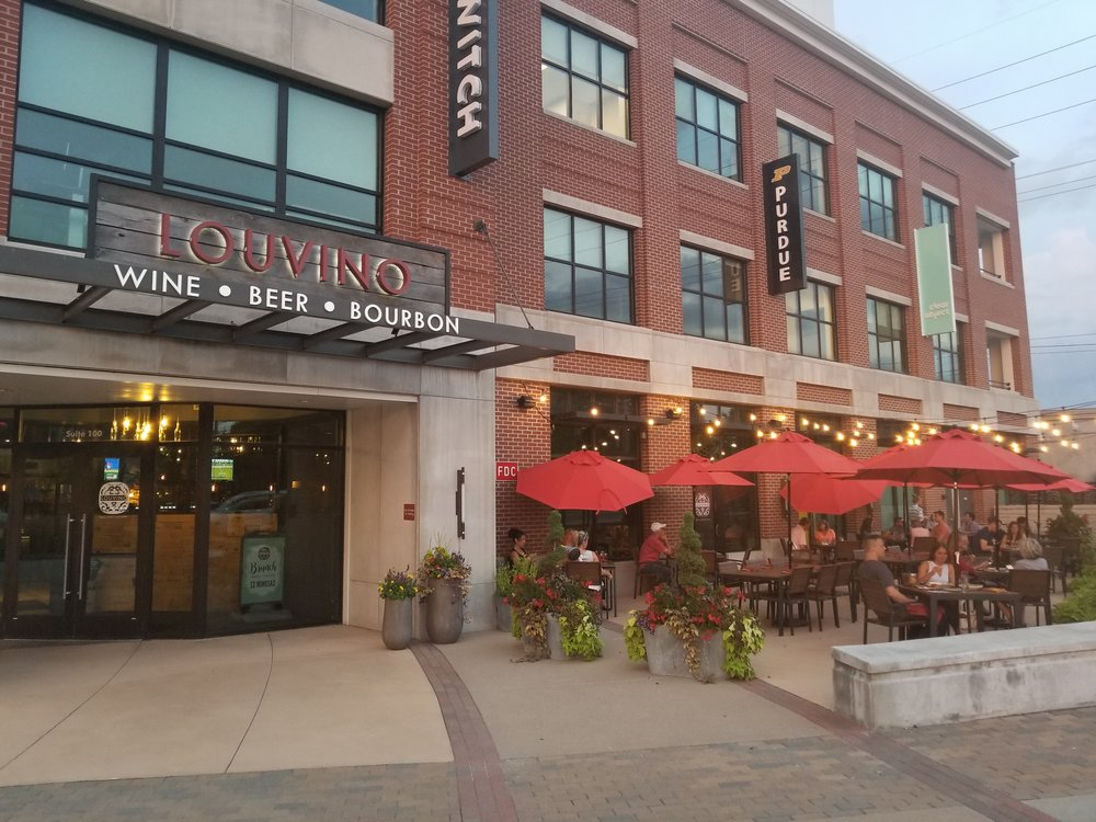 LouVino Restaurant and Wine Bar, Fishers, Indiana Nickle Plate District