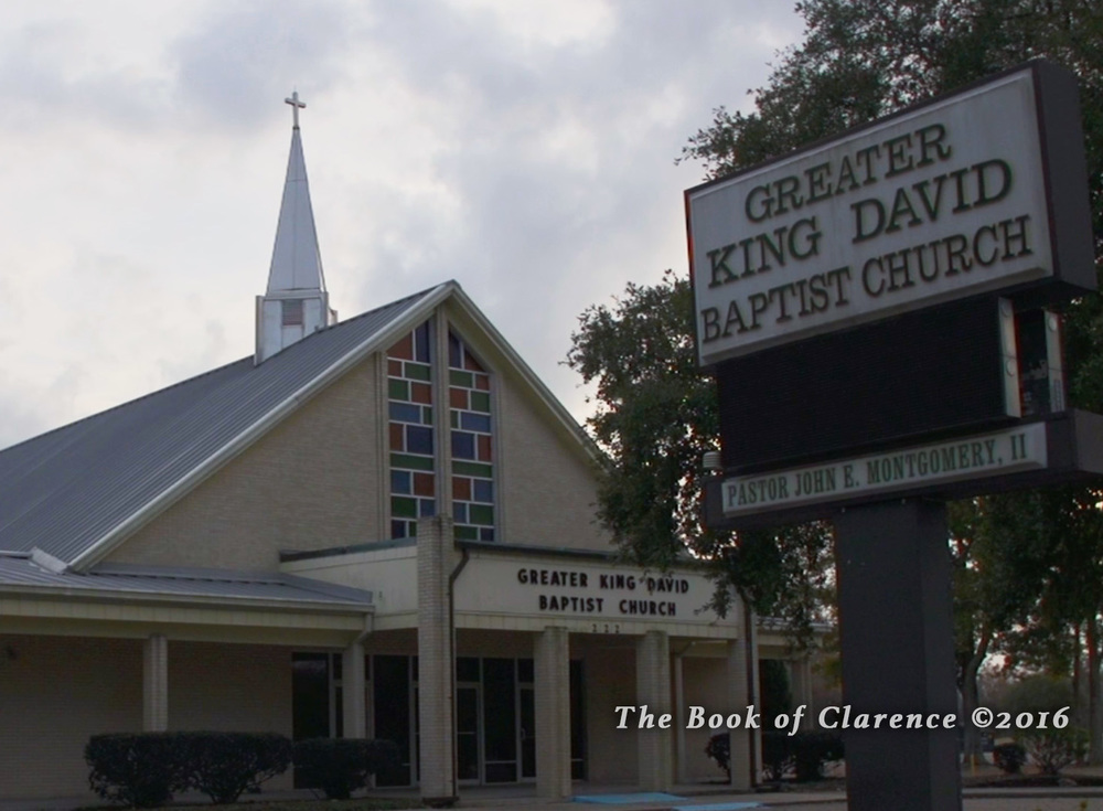 Greater King David Church,The Book of Clarence