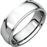 Stuller Mens Edge Wedding Band