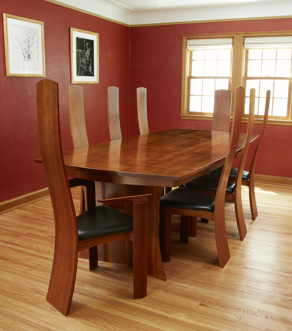 cherry dining table. Cherry Dining Room Set Table