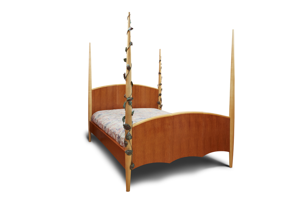 Art Deco 4-post Bed