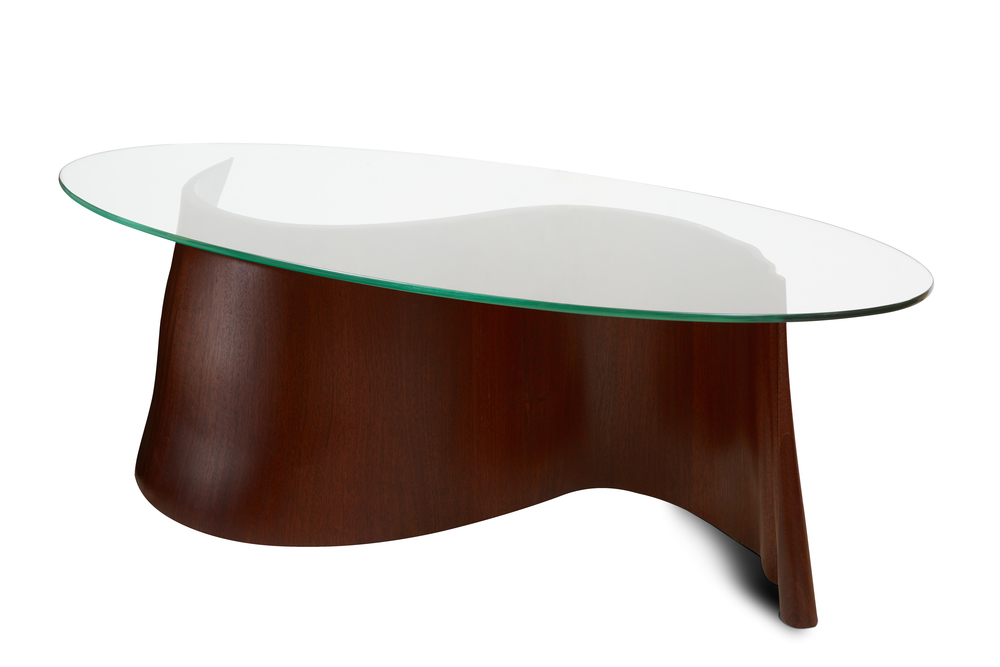 Ribbon Table front view