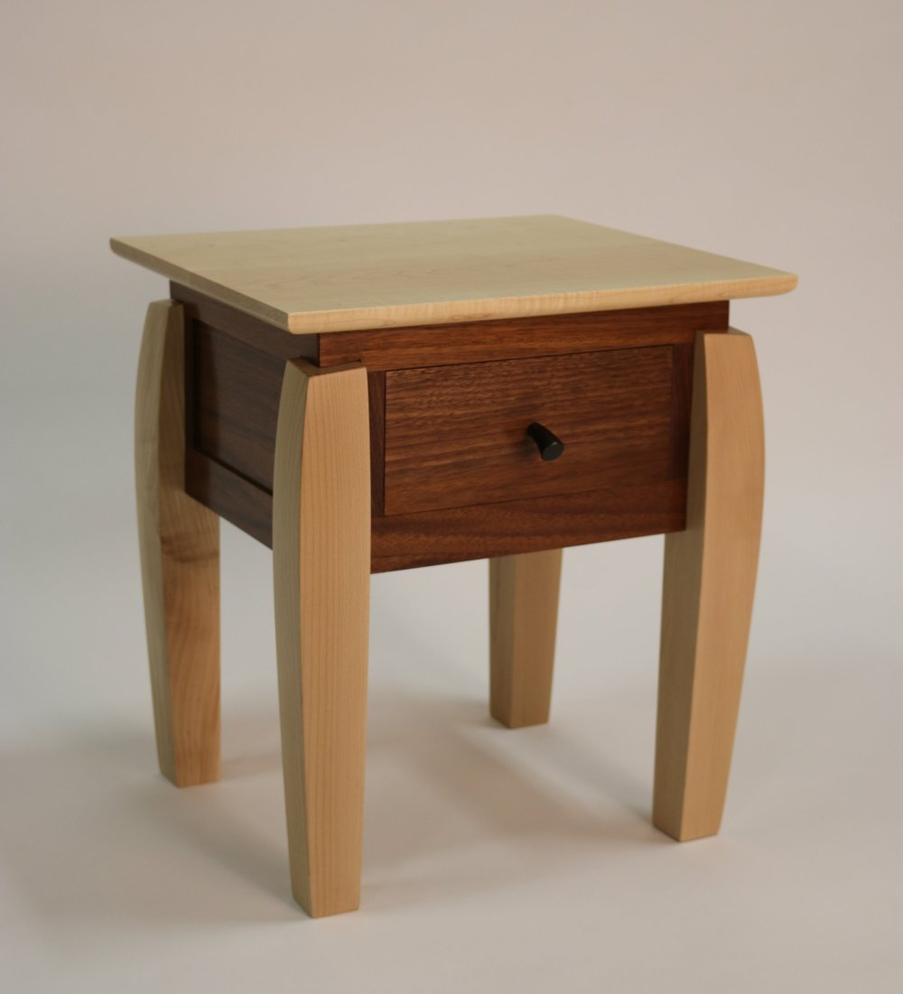 Walnut Night Stand