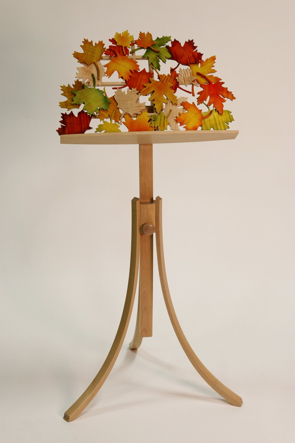 Autumn Leaves - Birch Stand