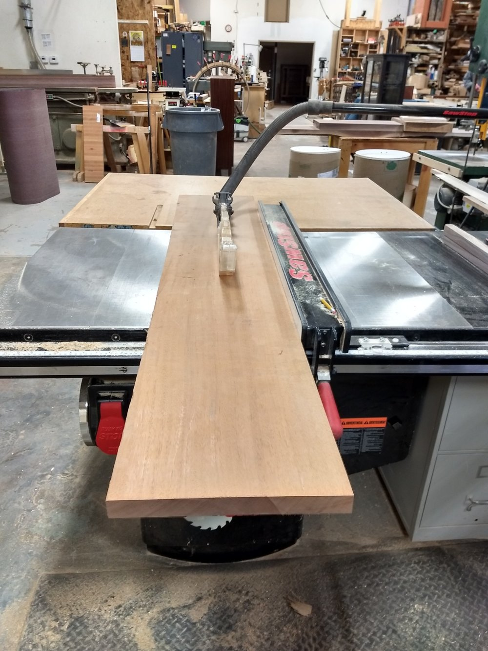 Cutting to width