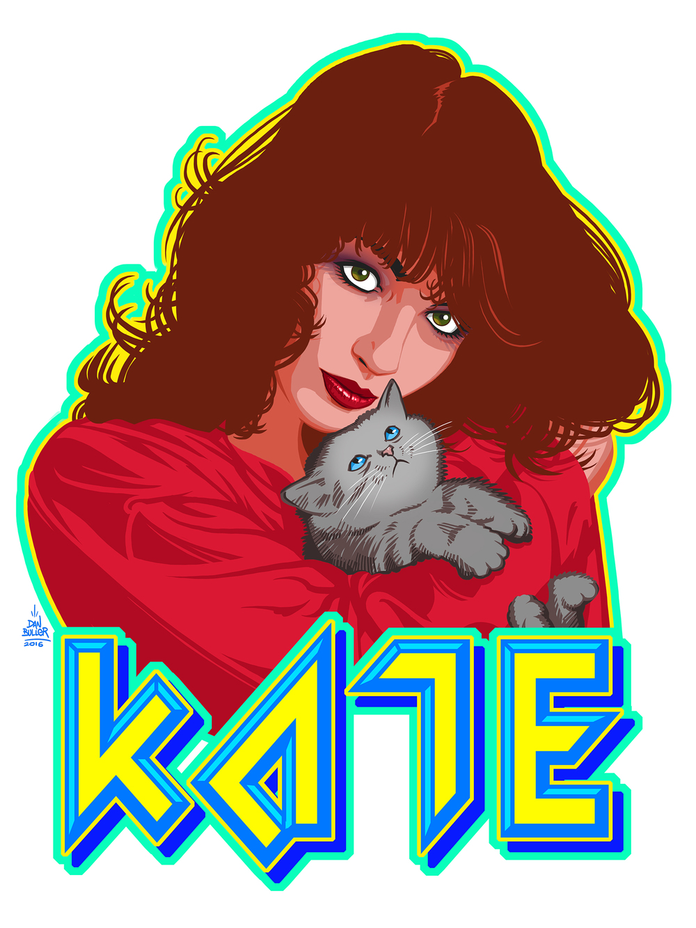 Kate and Babushka the Kitten