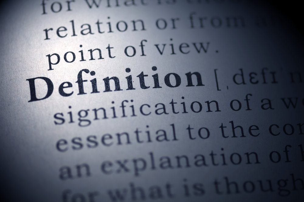 Definitions Graphic