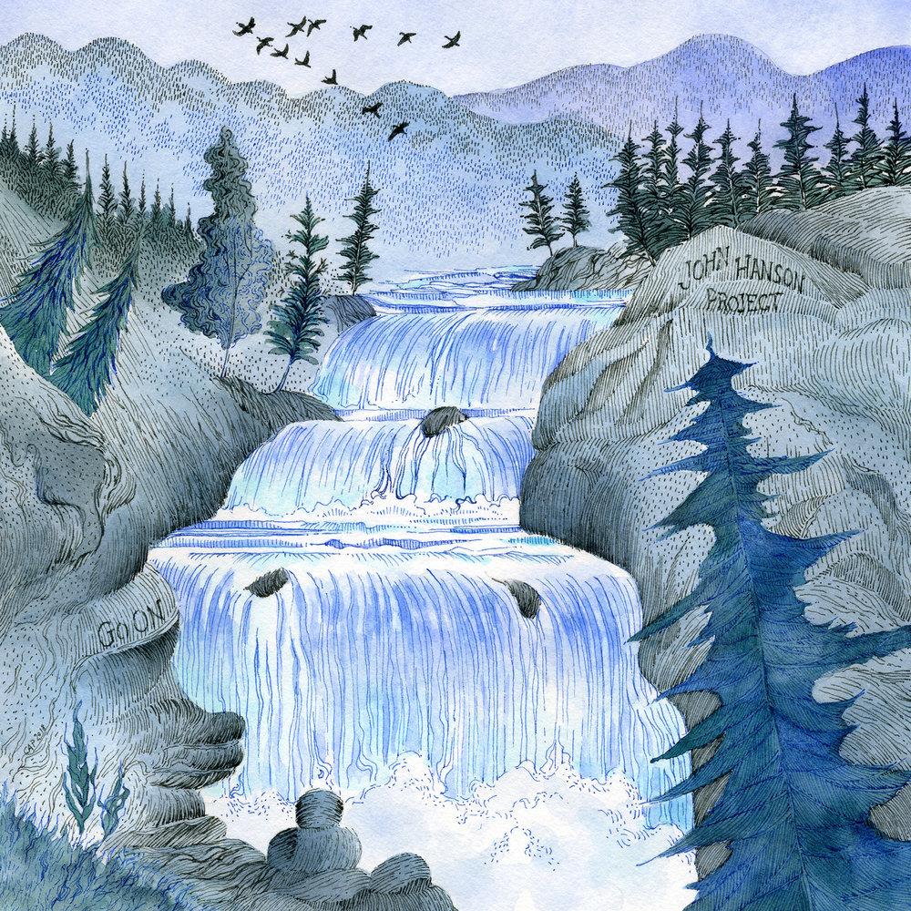 John Hanson Project, Go On album art (by Carolyn A Pappas)