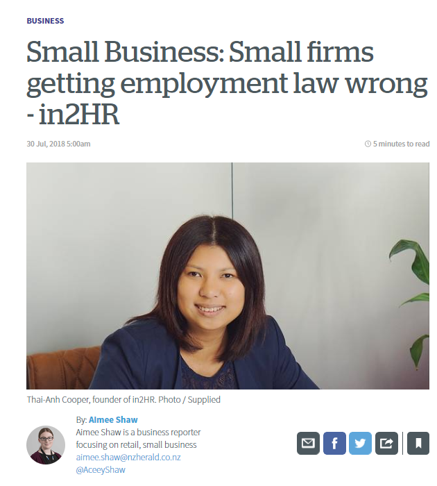 We sat down with NZ Herald to explain where some employers may be going wrong in the employment space.