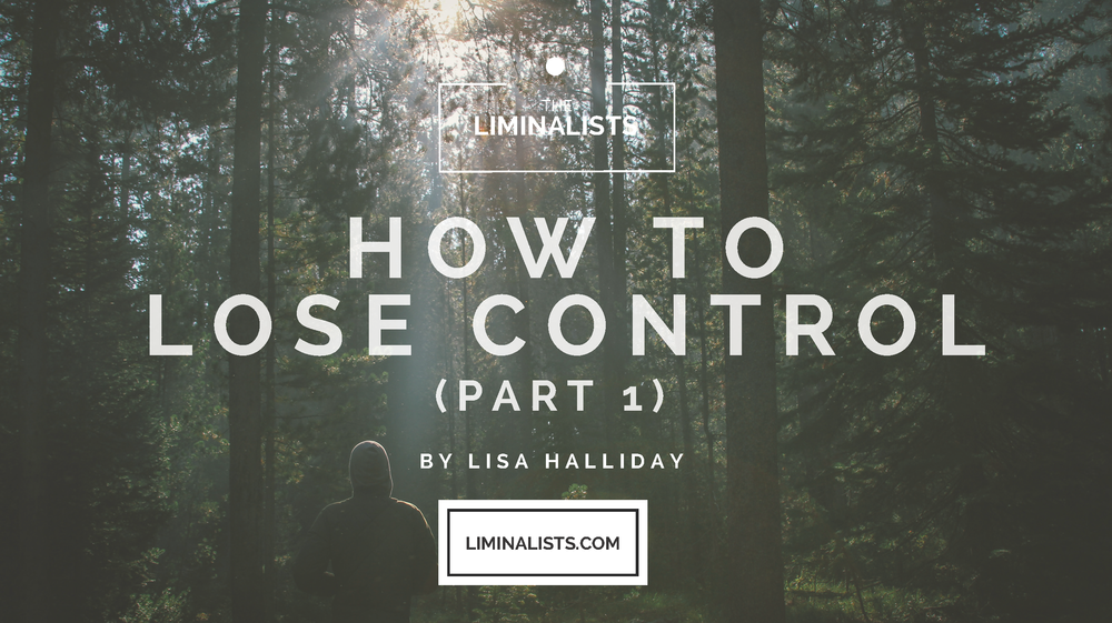 How to Lose Control - Lisa Halliday - The Liminalists