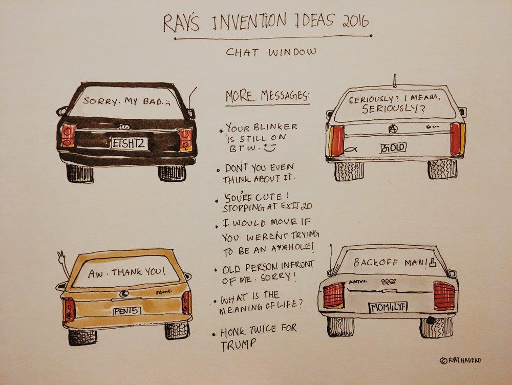 Day 11 - Transport - Inktober - Ray Haddad