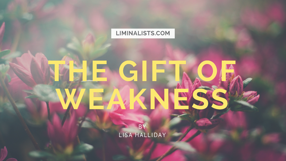 The Gift Of Weakness - Lisa Halliday - Liminalists.com - Azaleas