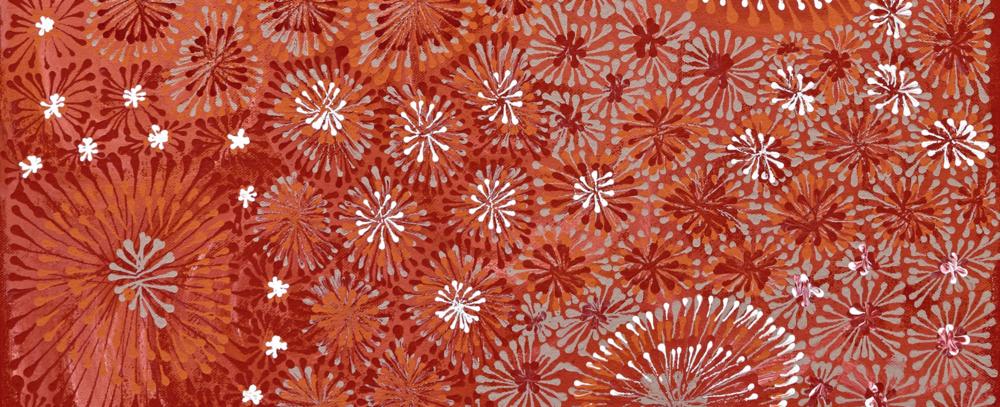 Jitilypuru Jukurrpa by Sylvaria Napurrurla Walker, detail.
