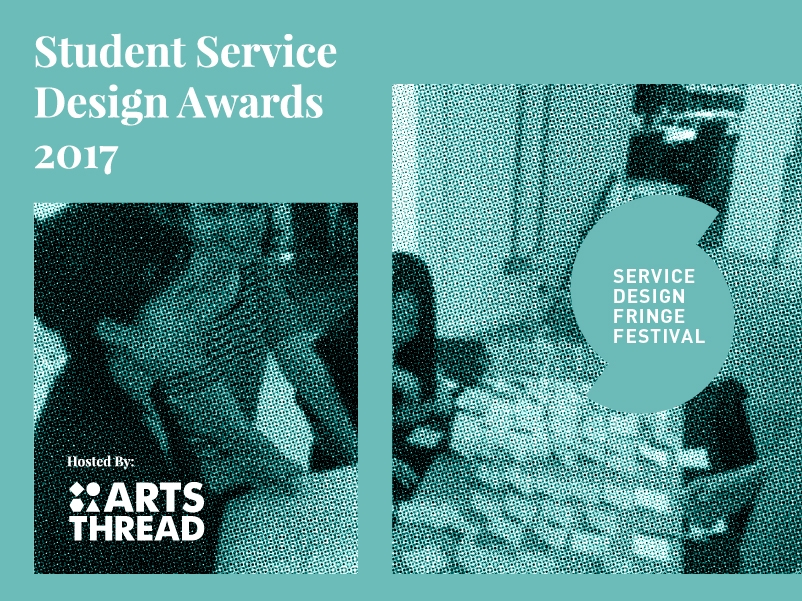 Student service design awards - We're launching a new competition for students, in partnership with ARTSTHREAD.