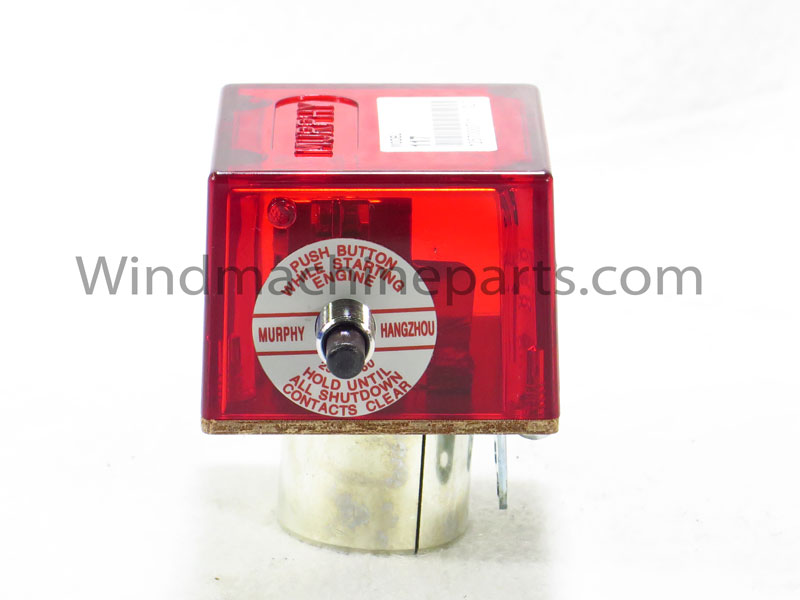 117 Start Switch    We carry Murphy 117 switches for Amarillo, Chinook, Crop Saver, Orchard-Rite, and Tropic Breeze wind machines.  This part provides protection for your engine against overheating and loss of oil pressure.  Old and warn out switches need to be changed out if they begin to malfunction.