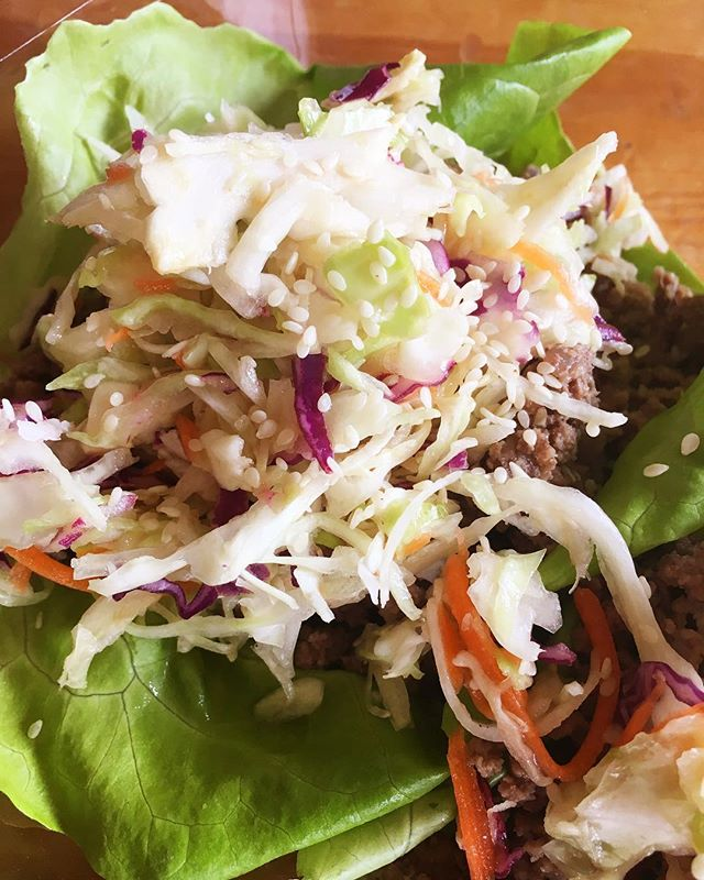 Enjoying my Asian Beef Lettuce Cups at a cold baseball game tonight. My boys have a doubleheader do I'm at the field from 4-8ish. We are gearing up for our @nourishtoflourishsociety 14-Day Spring Reset and this is one of my favorite recipes! Tastes amazing and the whole family loves it. Our Reset isn't a typical cleanse - it's designed to nourish your body + spirit within a community of amazing women who are ready to show up powerfully for themselves and each other. There's so much education too so you leave these 14 days understanding what, when and how to eat deliciously simple food so that you can jump start your weight loss, calm your cravings, boost your energy and have a great relationship with food too. No products. No gimmicks. Check it out in my profile link. Doors for registration open tomorrow. #nourishtoflourish #14dayspringreset @jilltanis #paleo #primal #organic #glutenfree #grainfree #selfcare #healthyeating #healthyrecipes #traditionalfood #busymoms #busymomsstayfit #sitdownandeat #nourishtoflourishsociety