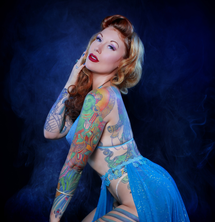 tana the tattooed lady