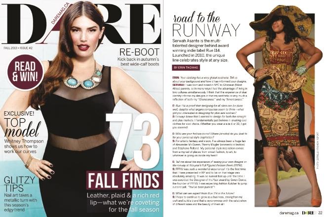 Dare Magazine Canada