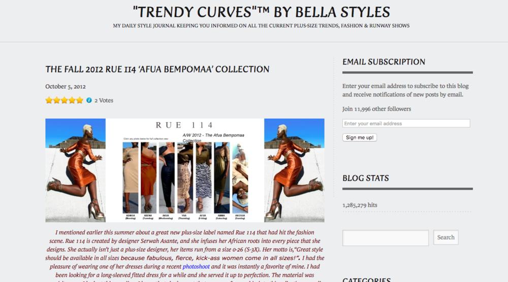 Trendy Curves