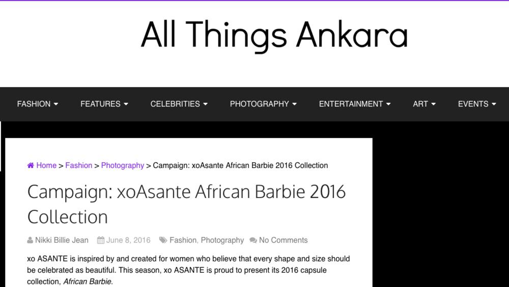 All Things Ankara