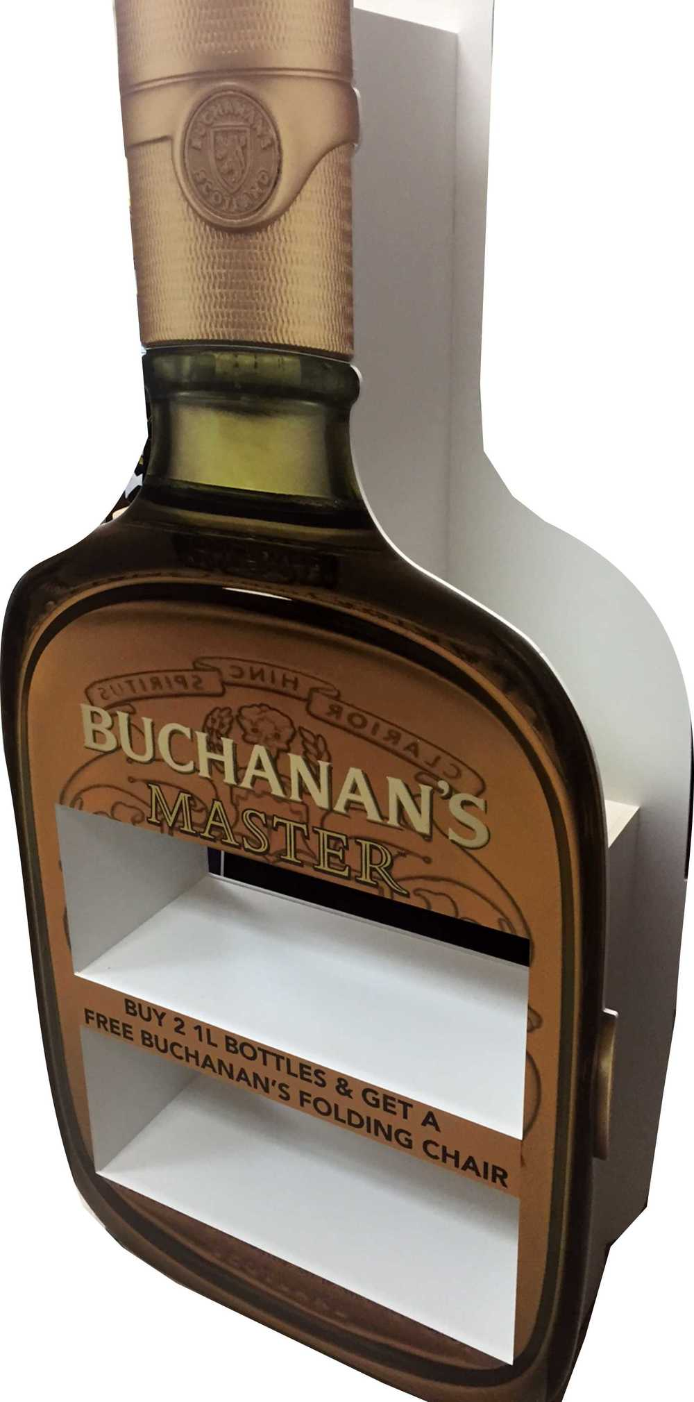 BOTTLE SHAPED DISPLAY