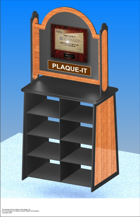 PLAQUE DISPLAY