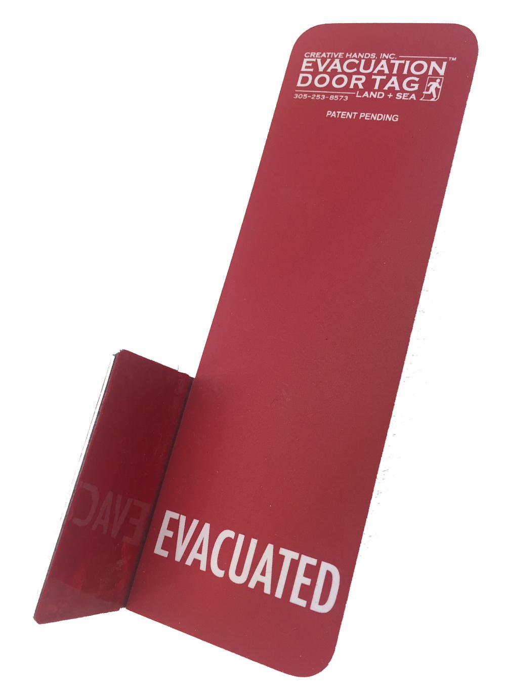 CABIN EVACUATION TAG