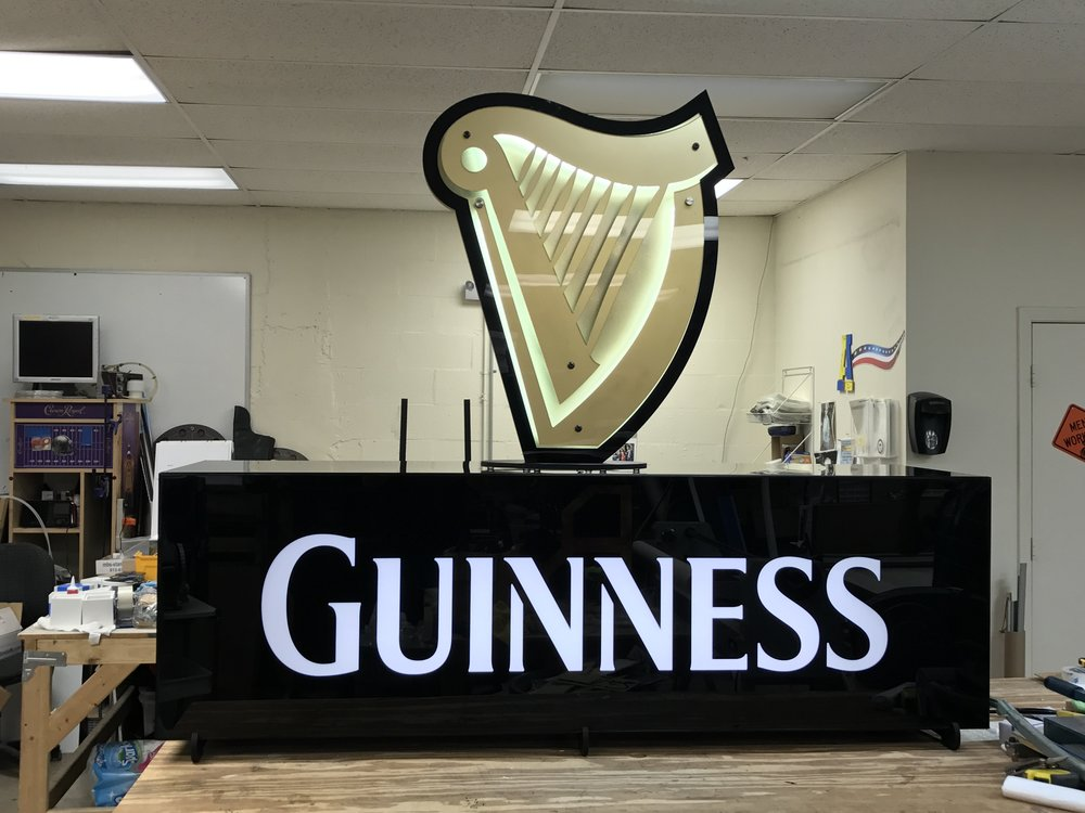 GUINESS ENTRANCE SIGN