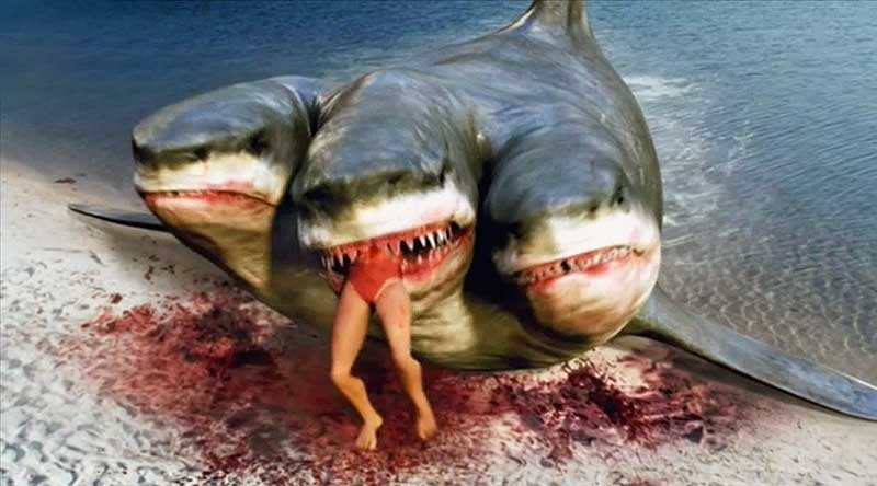Octobers Horror Movie A Day Rebooted 20 3 Headed Shark