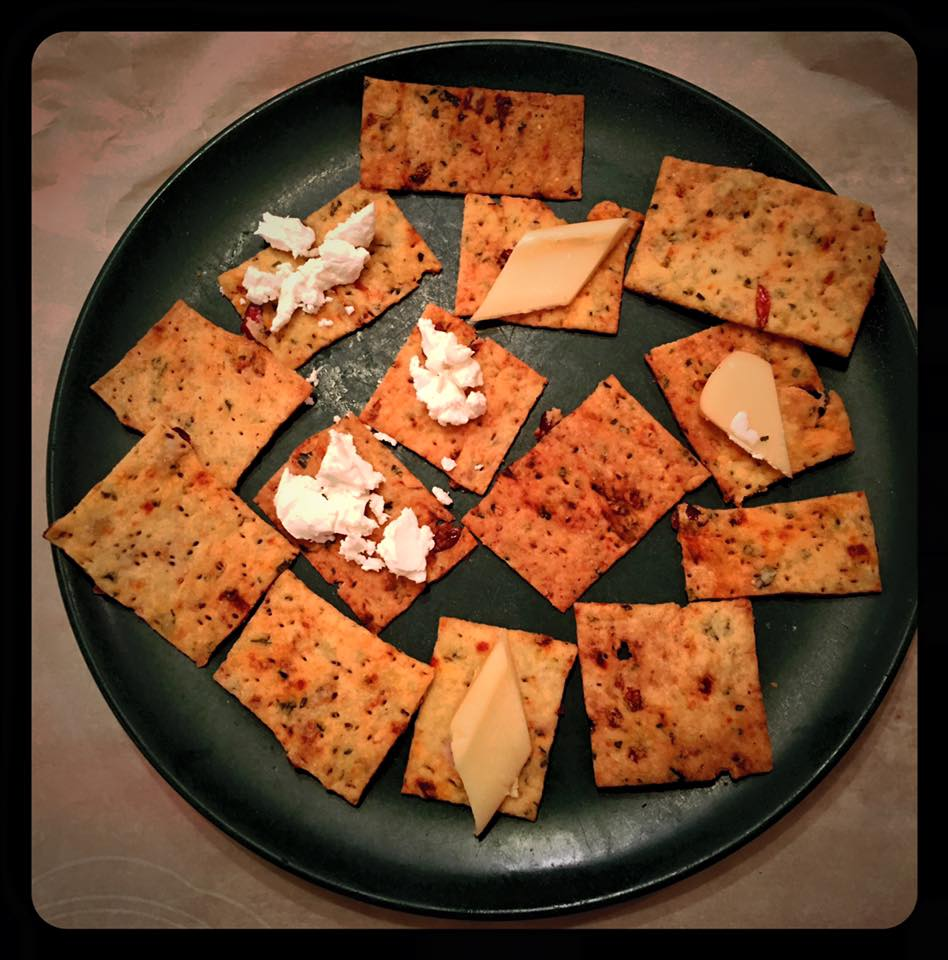 Sun Dried Tomato Crackers: A Research Project