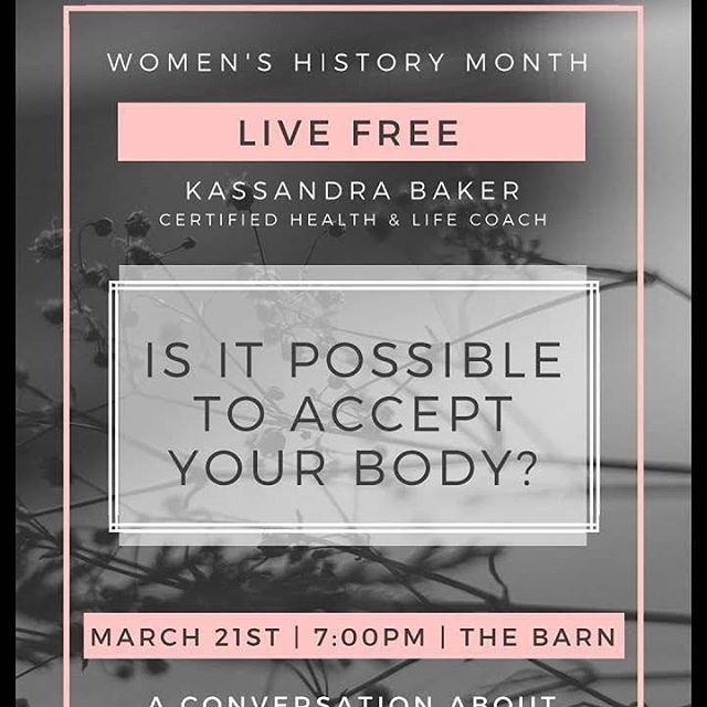 Join us March 21st for a conversation about food and body image!  Freedom from diets, disordered eating, eating disorders and a poor body image are possible!  How to reach freedom may surprise you! Come to find out!  #authenticityandgrace #livefree #freedom #intuitiveeating #bodyacceptance #haes #edrecovery #bodyimage #healthybodyimage  #idols #identity #eatingdisordersrecovery