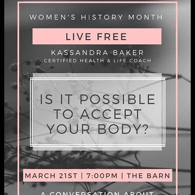 Speaking tonight at 7pm on the campus of MVNU at The Barn!  Excited to fulfill a dream I have had since college tonight. Sharing my story of recovery and helping other women find freedom as well!  #authenticityandgrace #livefree #freedom #freedomispossible #foodfreedom #intuitiveeating #bodyimage #bodyacceptance #dreams #livingthedream #dietculture #beautyidol #grace #authenticity