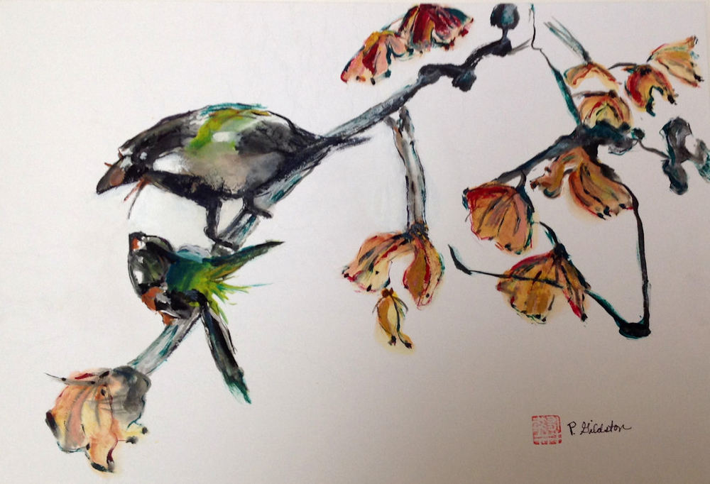 P Gildston birds and flowers.jpg