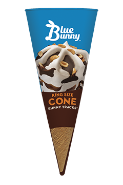 King Size Bunny Tracks Cone