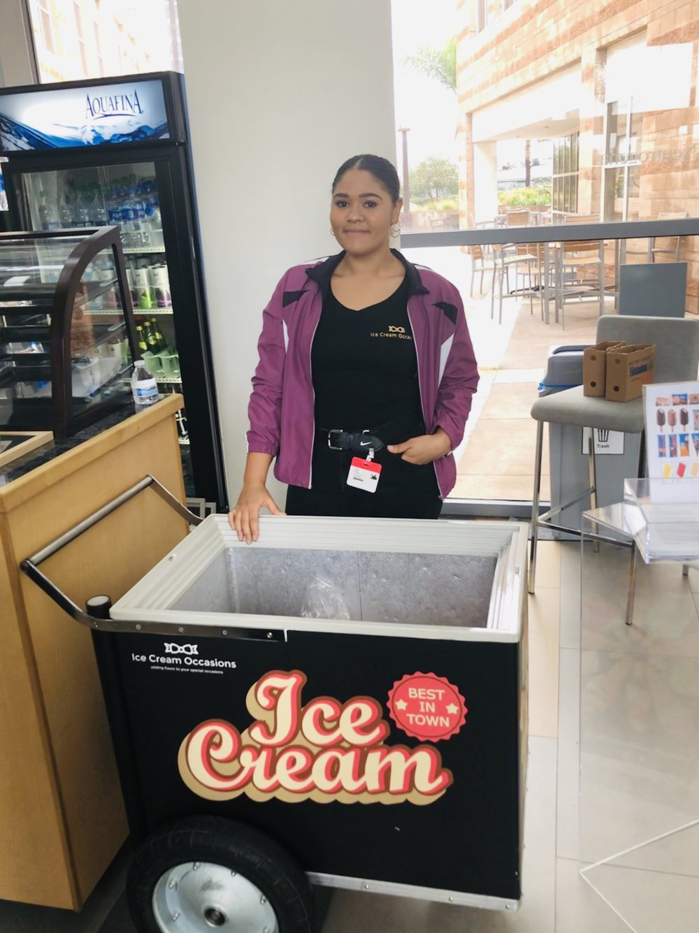 Ice Cream Cart Rental - Neutrogena