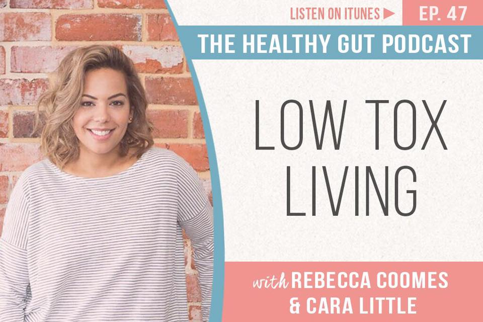 What does 'low tox' living mean and how you can achieve it? The products you put on your body and use around your home are just as important as what you put into your body, and a few simple changes can help to limit your exposure to toxins. Pharmacist Cara Little from  Pure Home Body  joins Rebecca to discuss how you can make those changes. Listen here:  http://bit.ly/2xeojDg   #SIBO   #lowtoxliving