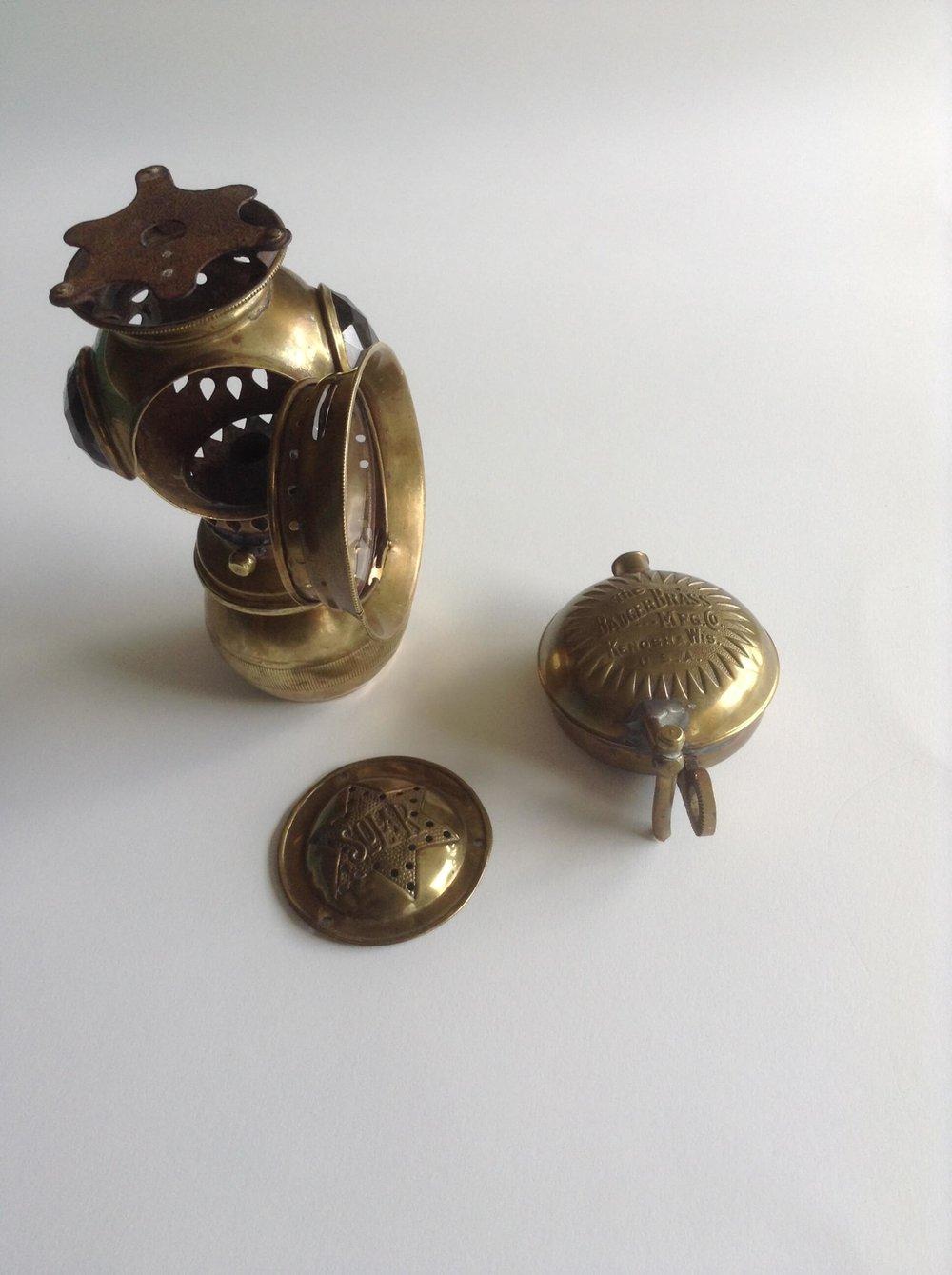 Original acetylene lamp