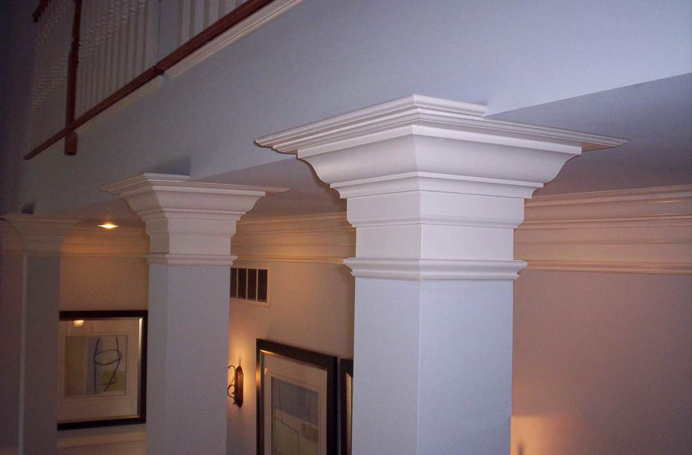 Wrap Columns with Cap - Toll Brothers Grandview Model