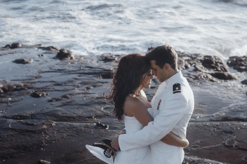 Erick & Emily - Windansea Beach Military Elopement Photography