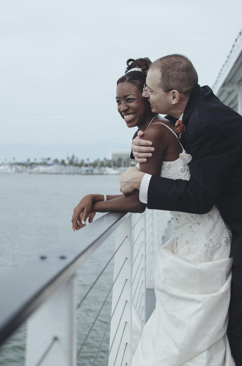 Nancy & Joseph - Shipboard Tampa Destination Wedding by Kelsie Taylor