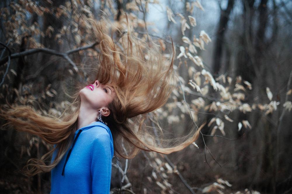 Burst - Autumn Narrative Portraiture by Kelsie Taylor Photography