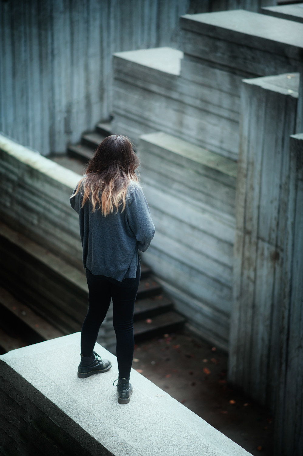 Labyrinth - Narrative Portraiture Captured at Freeway Park in Seattle