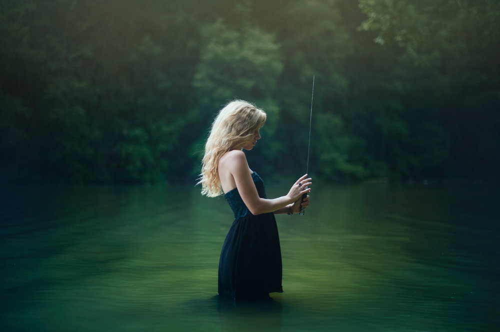 Water Warrior - Conceptual Portraiture by Kelsie Taylor