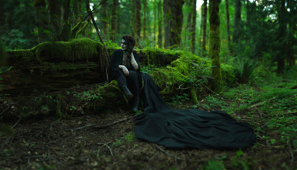Haunted Forest - Pacific Northwest Dark Moody Forest Photography
