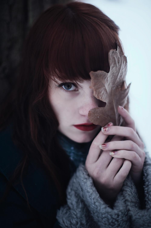 Aubrey in Winter