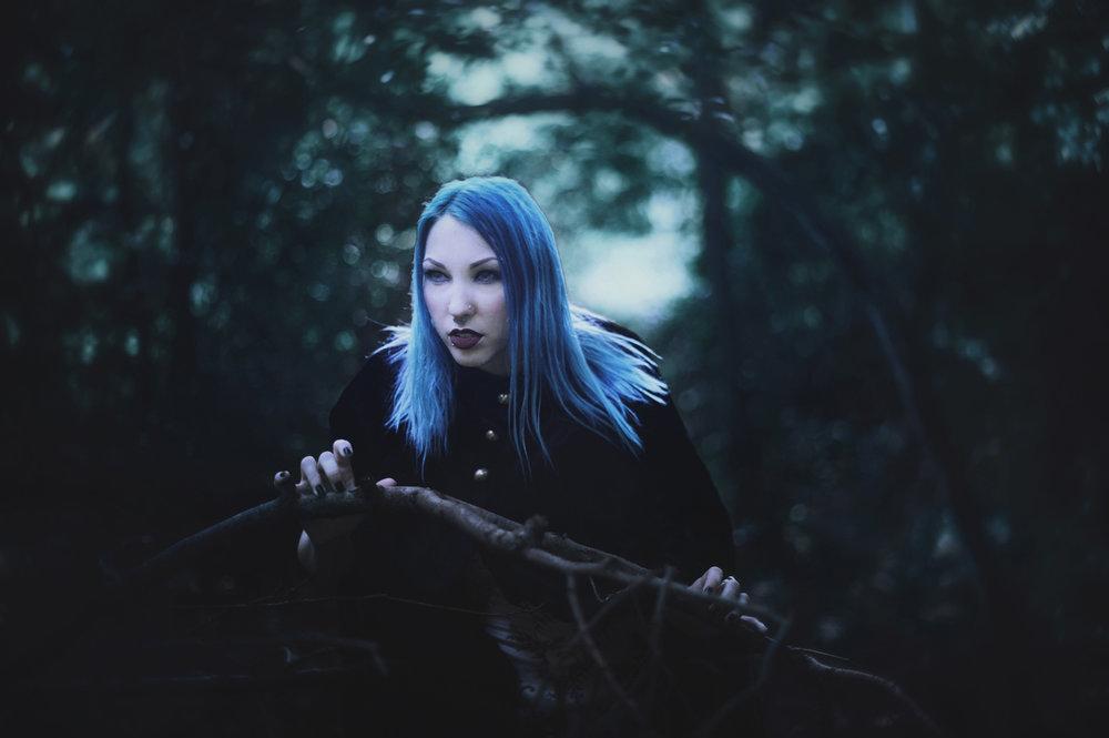 Creep - Dark Portrait Photography