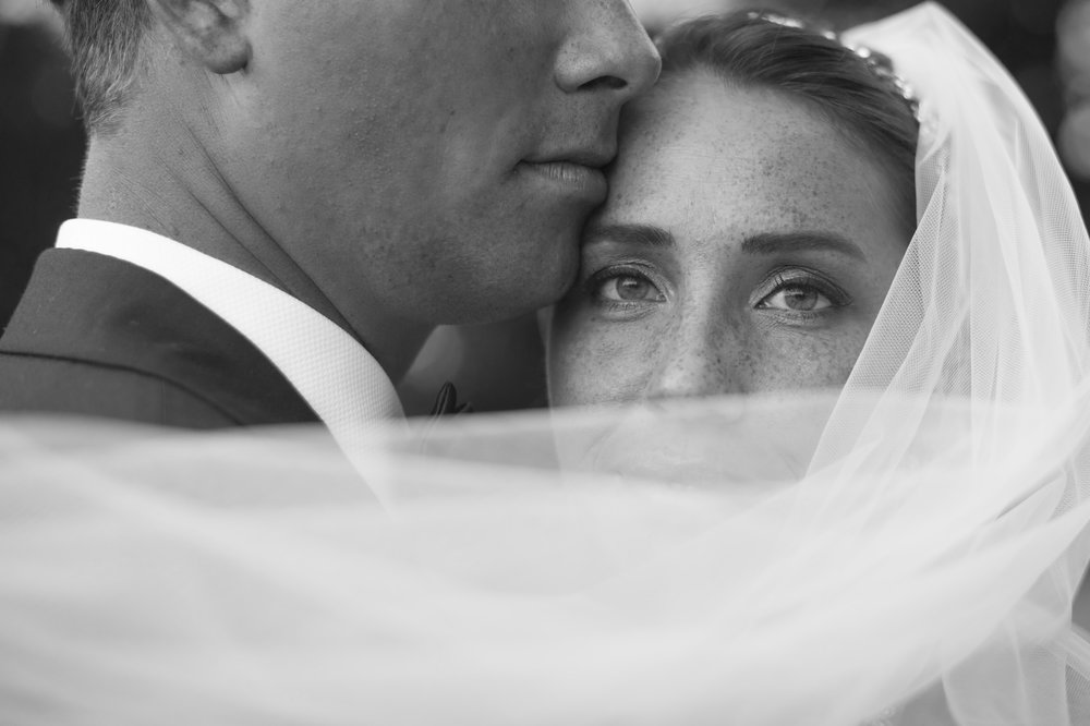 Micah & Emilie - Fine Art Black and White Wedding Photography by Seattle Photographer Kelsie Taylor